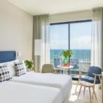 Me Sitges hotel bedroom sea view