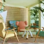 ME Sitges hotel lobby