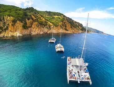 catamaran excursion and boat tour in barcelona