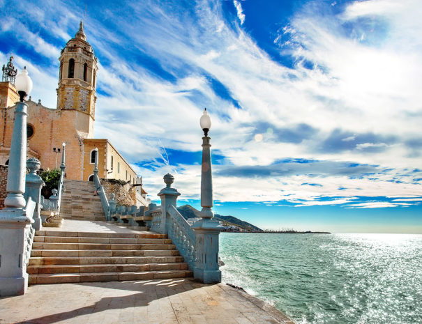 sea and sun in sitges