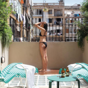 douche hotel Casa Bonay