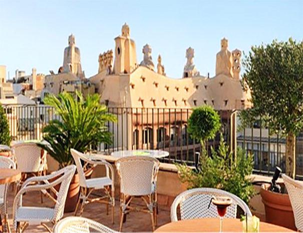H10 Casa Mimosa rooftop