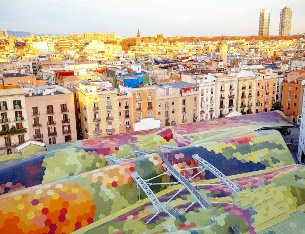 Mercado de Santa Caterina en Barcelona