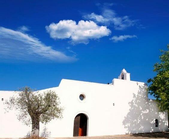Santa Agnes church ibiza