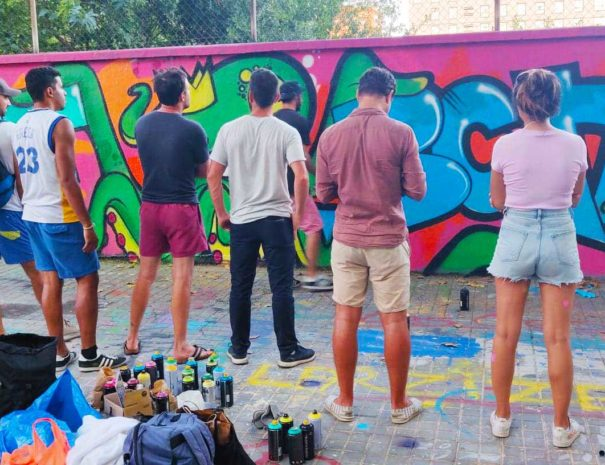 street art group activity