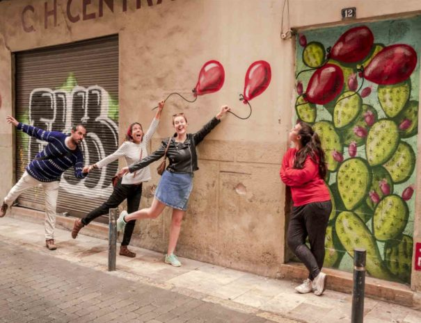 Fun Treasure hunt as a team building activity in Palma de Mallorca