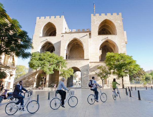 Bike tour in Valencia in Spain