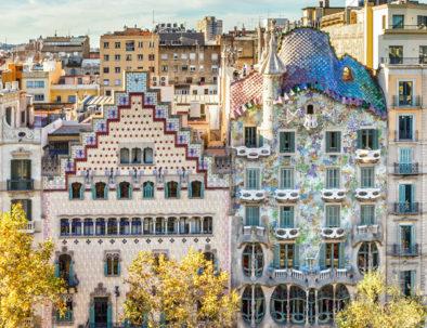 Gaudi's Casa Batllo in Barcelona