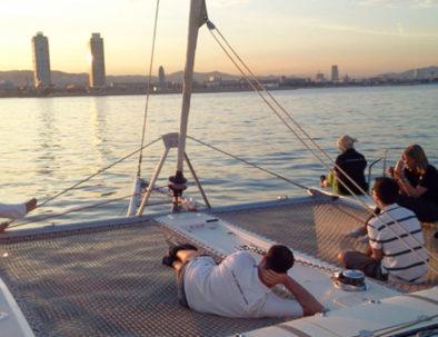 Croisière en Catamaran à Barcelone
