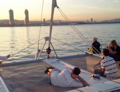 Catamaran cruise in Barcelona
