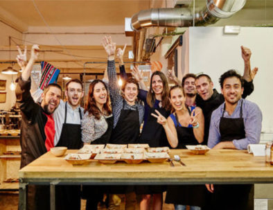 Cooking class as a team building activity in Barcelona