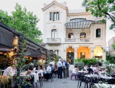 Restaurant Dos Torres à Barcelone comme lieu de réception pour des séminaires en Espagne