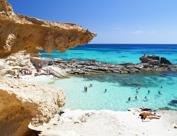 Formentera Island in Ibiza