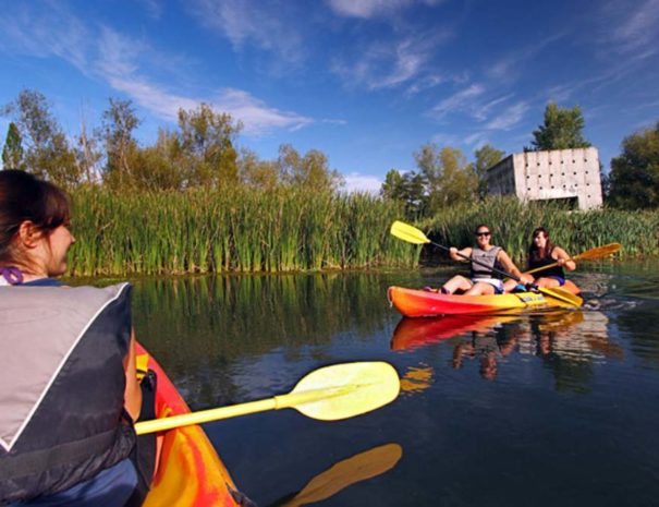 kayak en girona