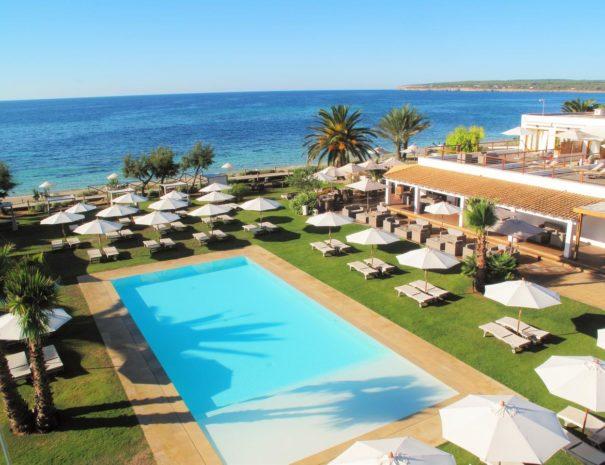 Formentera Gecko Hotel beach