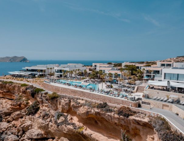 Ibiza 7 pines cliff