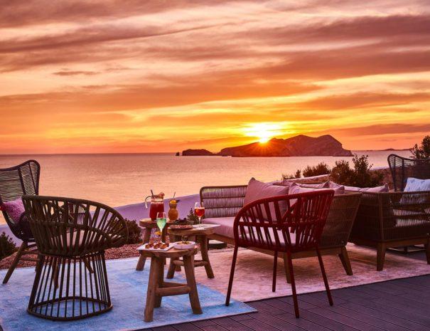 Ibiza 7 pines sunset