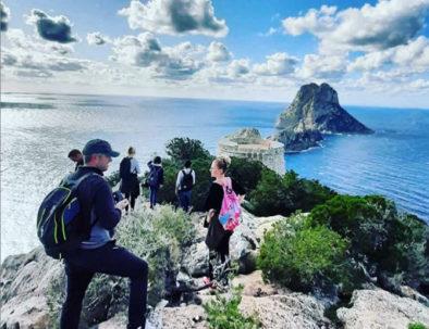 Caminata en Ibiza