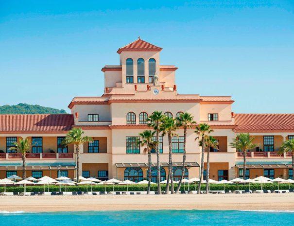 Meridien ra beach hotel spa building
