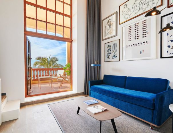 Meridien ra beach hotel spa bedroom