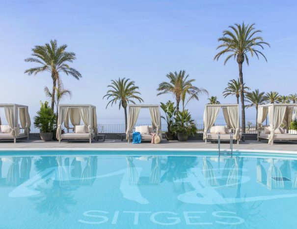 Me sitges Terramar hotel swimming pool