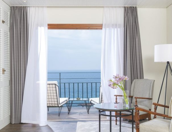 Santa maria hotel catalonia bedroom with sea view