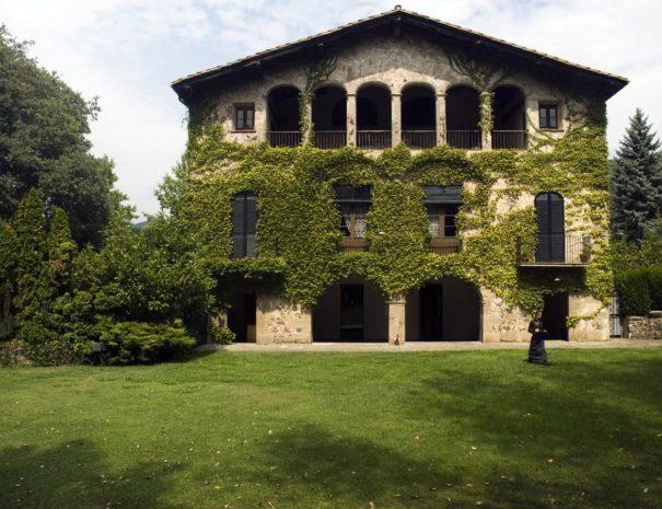 Hôtel Les cols Pavellons bâtiment principal