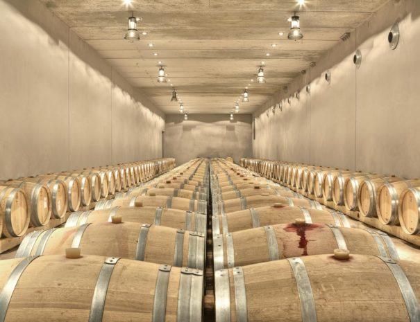 Trossos del priorat hotel wine cellar