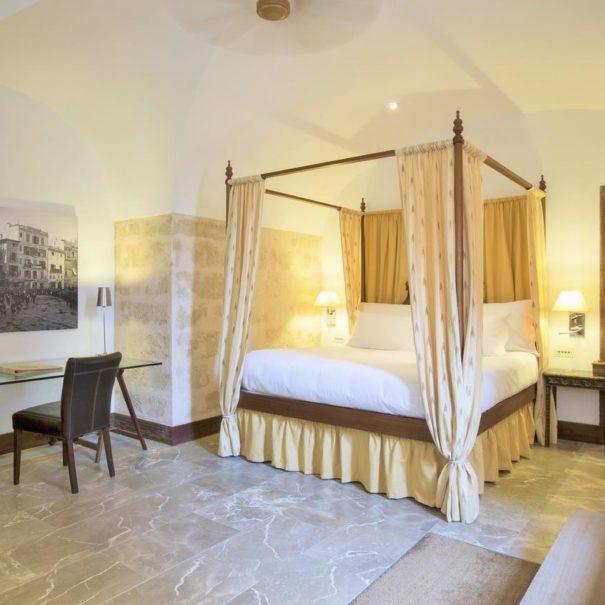 Suite in Cap Rocat hotel in Mallorca