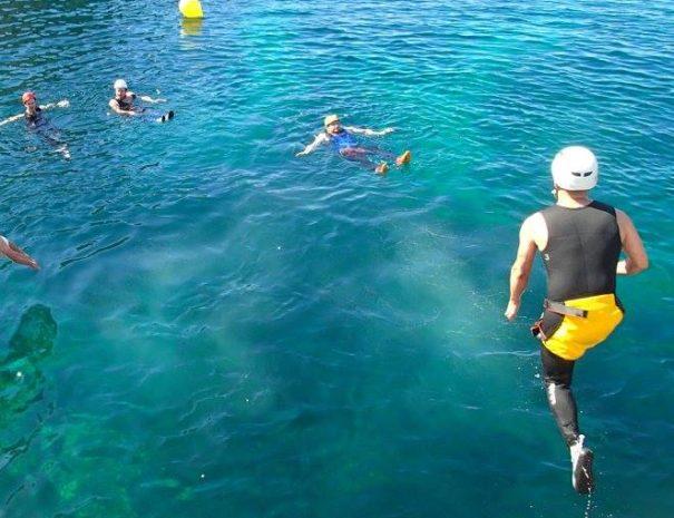 Activité nautique Coasteering à Majorque