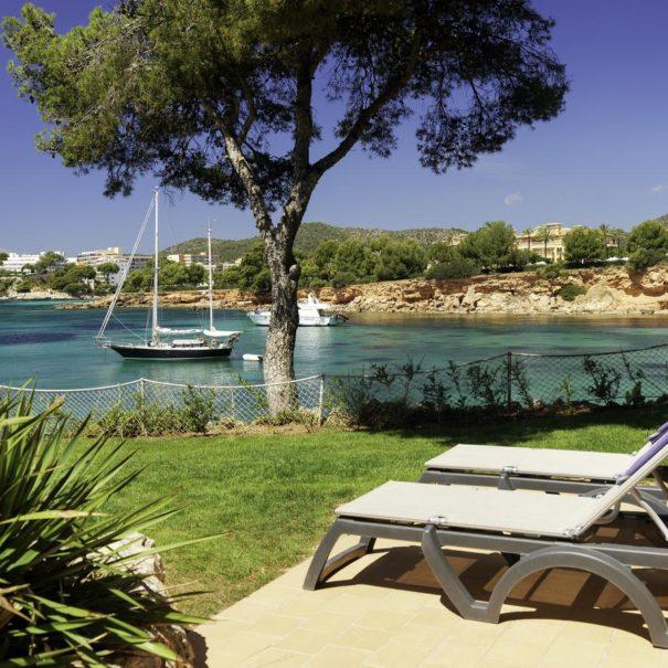 Private terrace in H10 Punta Negra in Mallorca