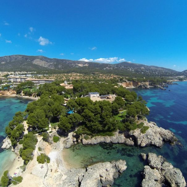 View over H10 Punta Negra in Mallorca