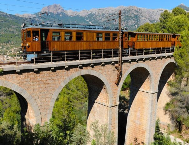 Palma to Soller train