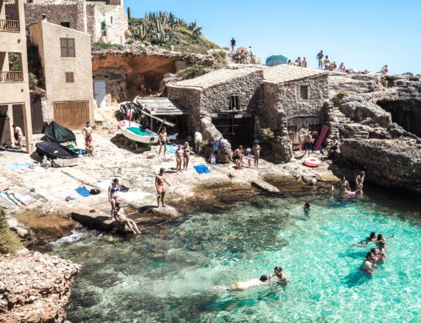 Playa secreta en Mallorca