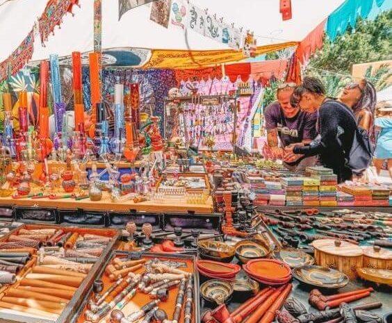 Marché hippie Ibiza