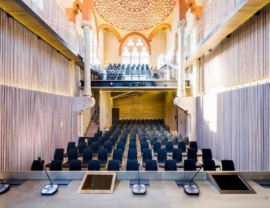 Mejor sala de reuniones de Barcelona, sala plenaria Sant Pau