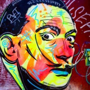 Dali street art private tours in Barcelona