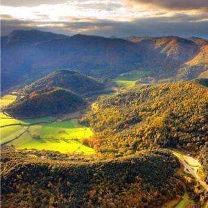 Garrotxa mountain walking tour in Catalonia