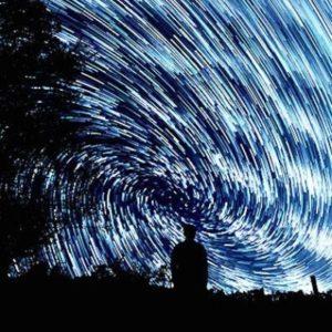 Cadaques night walk stars