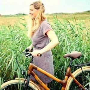 Team building bamboo bike tour