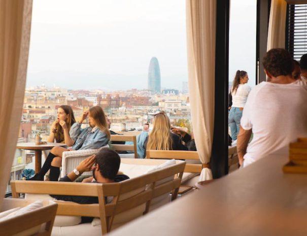 la mejor azotea para un evento en barcelona