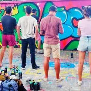 Best street art team building spain