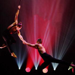 cirque du soleil show night