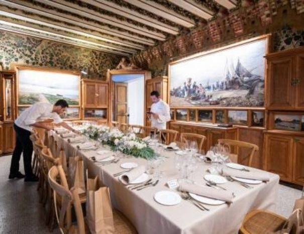 Ubicación excepcional para una cena de gala en Barcelona