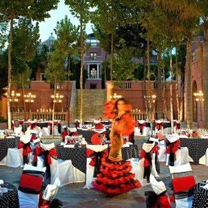 Noche de gala temática española en España