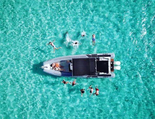 Fun boat excursion in Ibiza