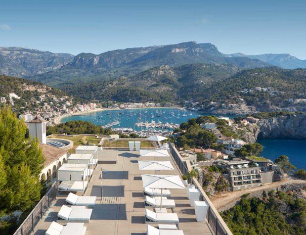 Rooftop à port soller à Majorque