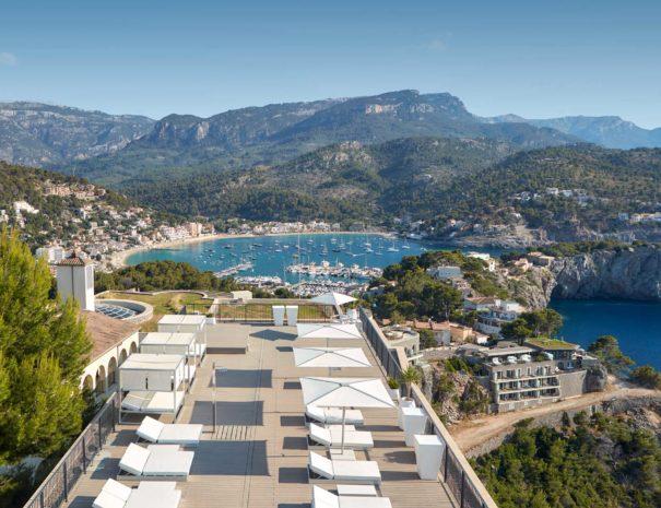 Best rooftop venue in Port Soller in Mallorca