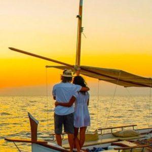 Ibiza traditional boat