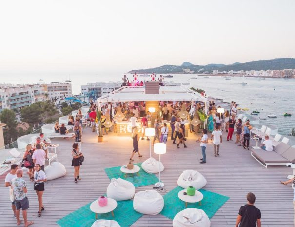 Best roofop event ibiza